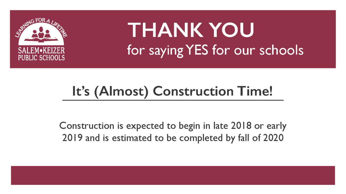 Construction to begin soon at North!