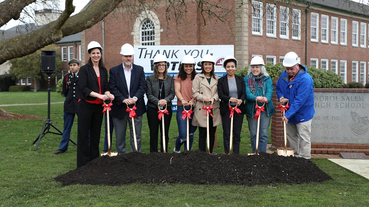 North Salem High School Groundbreaking - 2018 Construction Bond Work
