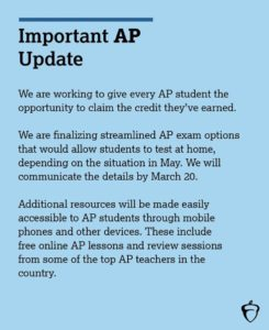 PDF Describes College Board AP updates